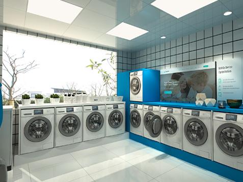 社区/高校自助洗衣房解决方案